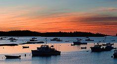 Sunrise Stonington , Maine