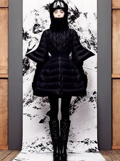 Sacai x @Moncler Official