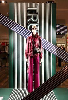 RetailStoreWindows: Trussardi, Milan Visual Merchandising, 10 Corso Como, C Wonder, Damien Hirst, Charles Keith, Exhibition, Ben Sherman, Matches Fashion, John Varvatos