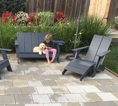 Emmet Outdoor Sofa - Modern Outdoor Lounge Seating - Modern Outdoor Furniture - Room & Board Lounge Seating, Outdoor Lounge, Outdoor Decor, Modern Outdoor Furniture, Modern Sofa, Room And Board Furniture, Chair And Ottoman, Home Decor Inspiration, Lanai