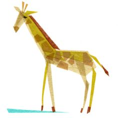 tiny fawn's etsy shop with collaged animal art