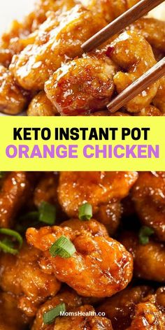 Keto Instant Pot Orange Chicken – Under 30 Min Low-Carb Meal. Keto Instant Pot Orange Chicken – This tangy sweet and flavorful low carb orange chicken made in instant pot consists of tender and juicy chickens with that delicious sauce… Continue Reading → Ketogenic Recipes, Low Carb Recipes, Diet Recipes, Cooking Recipes, Healthy Recipes, Ketogenic Diet, Low Carb Meals, Best Keto Meals, Radish Recipes