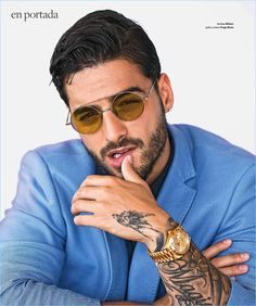 Colombian sensation Maluma covers the June 2017 issue of Caras. The pretty boy singer takes to the beach with photographer Marco Marcovich. Making a splash in summer fashions, Maluma connects with stylist Karen Fentanes. A smart vision, Mulma wears must-haves from brands, which include Hugo Boss and Saint Laurent. Related: Maluma Attends Billboard Latin Conference,... [Read More]