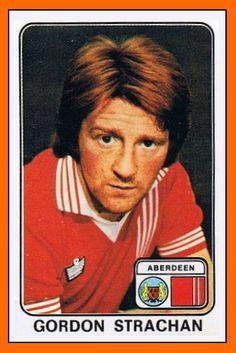Gordon STRACHAN Panini Aberdeen 1979....................................Please save this pin... ........................................................... Visit!.. http://www.ebay.com/usr/prestige_online