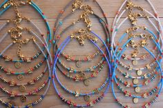 Wholesale Lot of 40 Authentic Seed Bead Anklet by monroejewelry