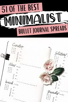 Minimalist bullet journal spread inspiration for every page of your bullet journal! Bullet Journal Monthly Spread, Bullet Journal Hacks, Bujo, Index Page, Weekly Spread, Spreads, Minimalist, Good Things, Inspiration