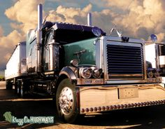 I realize that I post a lot of Peterbilt and Kenworth trucks on here so I figured I would change it up this week with a beautiful Western Star. Have a great St. Patrick's day weekend everybody! Drink...