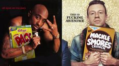 Rappers & Cereal serves up a medley of famous rap artists Photoshopped together with iconic cereals.