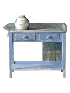 D River Pottery Table from Dressers & Nightstands on Gilt