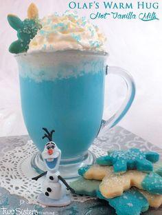 Olaf's Warm Hug Hot Vanilla Milk