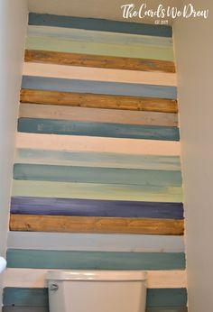 Coastal Planked Wall