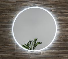 Round light up mirror. Remer Sphere round mirror has backlit LEDs that emit the light outwards creating a soft ambiance on the wall. Backlit Mirror, Led Mirror, Light Touch, Light Up, Navy Bathroom Decor, Contemporary Bathrooms, Round Mirrors, Light Colors, Melbourne
