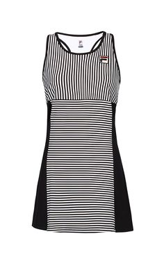 STRIPE Full Coverage Dress This stylish Stripe Full Coverage Dress will have you ready for any tennis match with a built-in shelf bra, colorblocking and side vents to keep you cool. Tennis Wear, Tennis Dress, Tennis Clothes, Tennis Tops, Tennis Match, Dresses Uk, Dresses For Work, Stripe Dress, Black Stripes