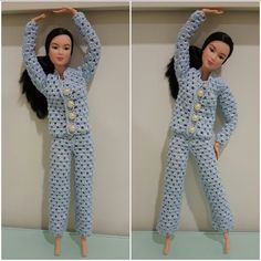 This hub is a free crochet pattern for Barbie Pajama Set.