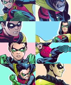 Damian Wayne by timothyydrake on Tumblr Anyone suspicious about the fact Tim made this?!? xD