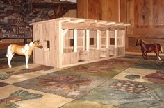 Custom Made Wooden Toy Barn #1