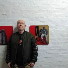 Mr O'Connell #exhibition #roadstudios #liverpoolbiennial #liverpoolbiennial2016 #newwork #drawing #painting #northwestartist #northwest #mersyside #july #artliverpool #spraypaint #come #opening #pastel #pasteldrawing #art #artwork #artist #artiststudio #unisoncolours #unisoncolour #spraypaint (view on Instagram http://