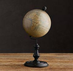 1949 French Desktop Globe