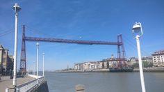 Puente Bizkaia vía @Bolevander (4/4/17)