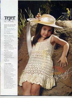 crochet dress for little girls on the summer | make handmade, crochet, craft