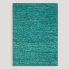 One of my favorite discoveries at WorldMarket.com: Aqua Deca Flat-Woven Jute Rug