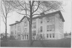 The old Chambersburg High School on Queen and Third Streets. Submitted by Bob Harrison.