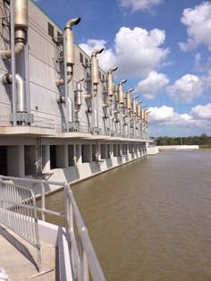 Largest pumping station in the world at West Closure Complex NOLA