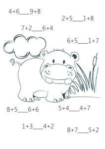 Fun math sheets for kids Teaching Geography, Teaching History, Teaching Math, History Education, Math For Kids, Fun Math, Preschool Activities, Second Grade Math, Grade 1