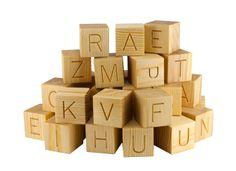 #English #Alphabet is easy! Who wants to learn English alphabet while having lots of fun? :) www.klikklakblocks.com