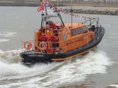 New Lifeboat at speed