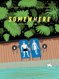 Sophia Coppola's Somewhere Poster // Illustration by Gabriel Ebensperger