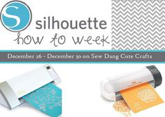 Sew Dang Cute Crafts: Let's Talk Images for the Silhouette–Theirs and Yours