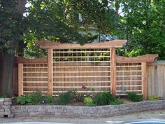 A portfolio of work including slide shows of Decks, Fences and Trellises, Porche. Privacy Fence Landscaping, Privacy Fence Designs, Garden Privacy, Backyard Privacy, Backyard Fences, Garden Trellis, Backyard Landscaping, Privacy Trellis, Privacy Fences