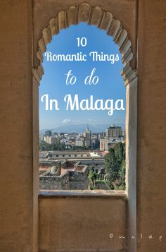It's no secret that Malaga is a vacation destination for many people, and with beautiful weather and beaches it makes the perfect romantic weekend getaway. While there are plenty of narrow streets, gardens and beaches to make some fantastic memories with that special someone, you might be wondering about some good date ideas in Malaga. With that in mind, we decided to put together a list of 10 romantic things to do in Malaga. With love, from us to all of you!