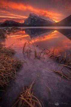 Mt Rundle and Vermilion Lake (Banff, Alberta) by Edwin Martinez / 500px
