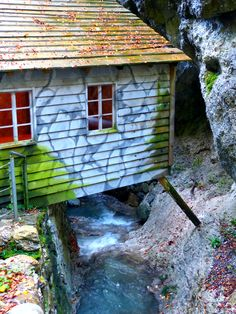 The Franja Partisan Hospital - a secret World War II hospital located at Dolenji Novaki near Cerkno in western Slovenia