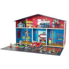 Fire Station Bookshelf Kids Rooms Pinterest Kids