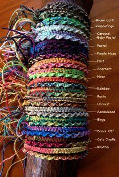 12Handmade Friendship Bracelet Cotton 147