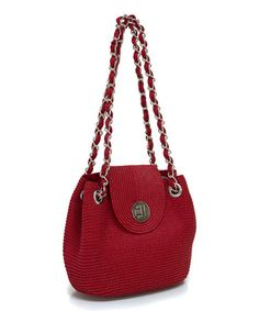 Another great find on #zulily! Red Fold-Over Shoulder Bag #zulilyfinds