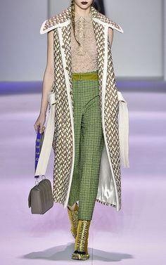 Panno Twill Tweed Gilet  by MARCO DE VINCENZO for Preorder on Moda Operandi