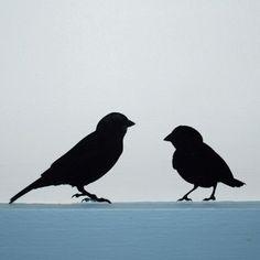 Bird Silhouette Decals