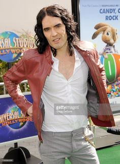 Russell Brand arrives to the World Premiere of 'HOP' at Universal Studios Hollywood on March 27, 2011 in Universal City, California.