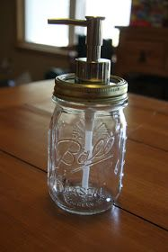 A Farm Wife's Life: DIY - Making a Mason Jar Soap Pump