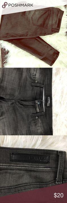 Express Stella Jean Leggings Grey jean legging from Express. Low-rise Stella fit. Express Jeans Skinny