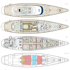 Yacht Builders, Layout, Deck Plans, Yacht Design, Latest Images, Luxury Yachts, Central America, Sailing Ships, Surfboard