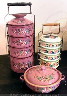 just can't get enough enamel ware...