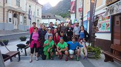 Group photo from Zipline Slovenia