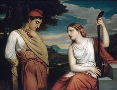 Henry Peters Gray (American, 1819–1877). The Greek Lovers, 1846. The Metropolitan Museum of Art, New York. Gift of William Church Osborn, 1902 (02.7.2)