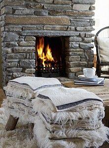 Romantic fireplace......