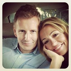 Celebrity Twitpics: Newlyweds Cat Deeley and Patrick Kielty look blissfully happy on their way to dinner. Copyright [Instagram]